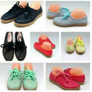 Sepatu Jelly Tali Merek Bara-Bara