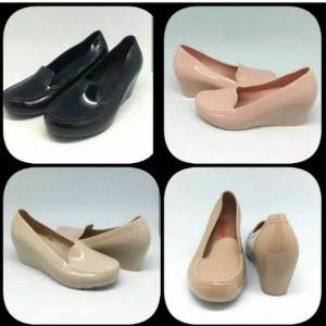 Sepatu Wedges Polos Merek Bara Bara