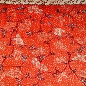 Kain Batik Tulis Lasem Dua Warna 2W-010
