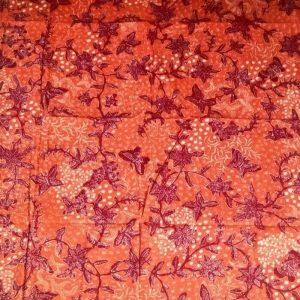 Kain Batik Tulis Lasem Dua Warna 2W-014