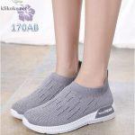 Sepatu Wanita Slipon Sock Rain 170