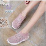 Sepatu Wanita Slipon Sock Rain 170-2