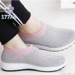 Sepatu Wanita Slipon Sock Slavina 177-1