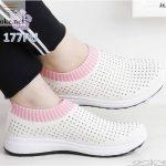 Sepatu Wanita Slipon Sock Slavina 177