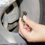 Tutup Pentil ban Mobil Motor Indikator Tekanan Angin - Air Alert Tire Valve Cap-9