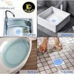 Saringan Penutup Lubang Saluran Air Wastafel Silikon Bulat Sink Drain-DB-1